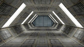 Interior futurista — Foto de Stock