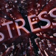 Stress city — Stock Photo