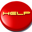 Help red 3d button  — Stock Photo