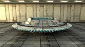 Interni futuristici — Foto Stock
