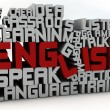 Learn english — Stok Fotoğraf #21841345