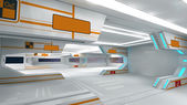 Scifi-interieur — Stockfoto