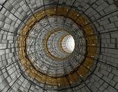 Tunnel futuriste — Photo