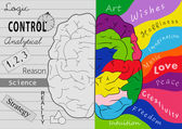 Brain creativity — Stock Photo