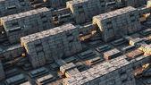 Arquitetura de ficção ciêntifica — Foto Stock