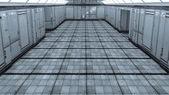 Futuristische architektur — Stockfoto