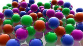 Colored spheres — Stock Photo