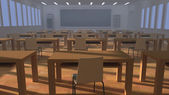 Classroom architecture. — Stock Photo