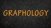 Graphology — Stock Photo