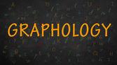 Graphology — Stock Photo