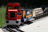 Treni in miniatura — Foto Stock