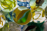 Glass marble — Stock Photo