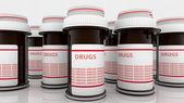 Box of medicines — Stock Photo