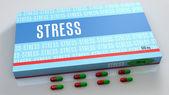 Stress medication — Stock Photo
