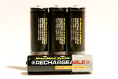 Rechargeable batteries 01 — Stock Photo