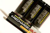 Rechargeable batteries — Stock Photo