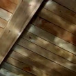 Stock Video: Water reflection on wooden ceiling