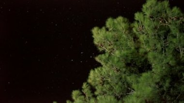 Super 35mm camera - time lapse of stars and space — Stock Video
