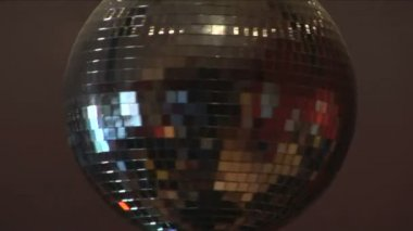 Disco ball rotating, HD 1080i, Sony Z1p, tripod — Stock Video