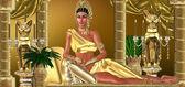 De romeinse keizerin — Stockfoto