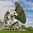 Stock Photo: radiotelescopes