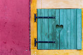 Typical shutter in Nice, France — Stock Photo