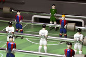 Football, table soccer — Stok fotoğraf