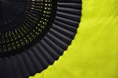 Otevřené dlaně ventilátor — Stock fotografie