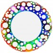 Colorful circles — Stock Vector