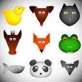 Animal set — Vecteur