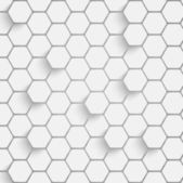 Paper hexagon background — Stock Vector