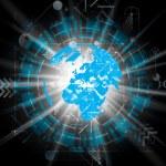 Earth illlustration — Stock Vector