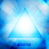 Triângulos abstratos — Vetorial Stock