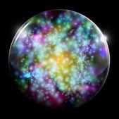 Plano de fundo colorido bolha — Vetorial Stock