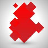 Fond de cubes — Vecteur