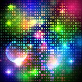 Tle kolorowe bąbelki — Wektor stockowy