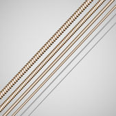 Guitar strings background — Stok Vektör