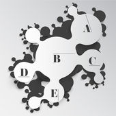 Circles modern design — Stock Vector
