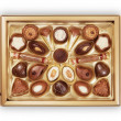 Chocolate Candy Box - Stock Photo