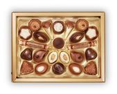 Chocolate Candy Box — Stock Photo