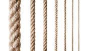 Collectie van verschillende touwen — Stockfoto