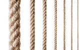 Collection of various ropes — Foto Stock