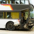 Bus accident - Stock Photo
