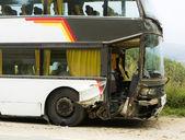 Bus accident — Stock Photo