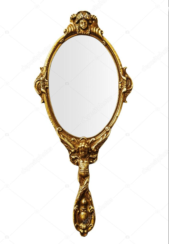 Vintage Hand Mirror Stock Photo 169 Wabeno 22381737