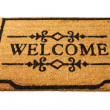 Welcome mat — Stock Photo