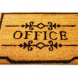 Office welcome mat — Stock Photo