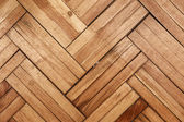 Damaged parquet — Stock Photo