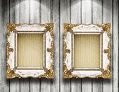 Ramar på väggen — Stockfoto
