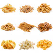 Junk food snack collection — Stock Photo #48632349